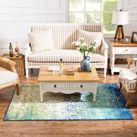 奇居良品 埃及客厅茶几卧室化纤地毯 多瑙河 DNH-11
