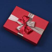 简约礼品盒长方形大号精美生日礼物包装盒男生款礼物盒子服装礼盒