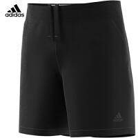 阿迪达斯Adidas 运动裤男子 混织短裤 羽毛球服