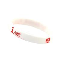 运动配饰篮球球星公牛罗斯手腕带夜光签名运动手环白色荧光手带纪念品篮球周边球迷用品礼品