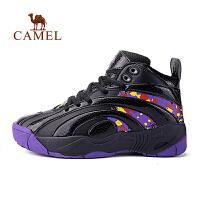 骆驼运动 正品女款篮球鞋防滑减震耐磨厚底高帮运动鞋女休闲鞋