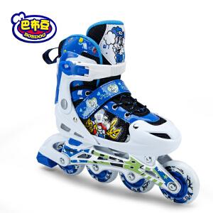 【新品上架】巴布豆童鞋直排轮轮滑鞋运动鞋