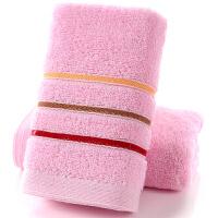 促销加厚纯棉毛巾家用洗脸面巾柔软吸水定制LOGO礼盒批发 73x33cm