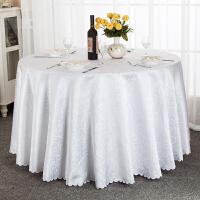 酒店桌布布艺餐厅长方形圆形饭店餐桌家用方桌婚庆大圆桌台布