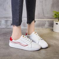 ZHR2019春季新款韩版基础小白鞋平底板鞋1992鞋子单鞋真皮女鞋潮