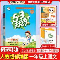 53天天练一年级上语文上册人教版部编版2019秋五三天天练一年级上语文