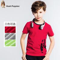 【3折价:59.7元】暇步士童装男童夏季纯棉时尚印花圆领衫