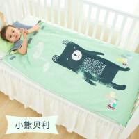 婴儿睡袋儿童春秋冬季薄款宝宝中大童防踢被四季通用被子