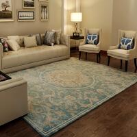 土耳其地毯客厅卧室床边毯 长方形进门茶几毯吸尘可水洗欧美