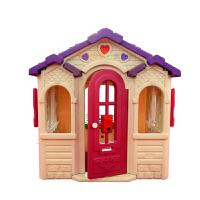 幼儿园塑料小房子 儿童游乐室内设备 巧克力小屋 游乐园游戏小屋 宝宝童话玩具屋