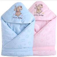 婴儿抱被秋冬加厚纯棉可脱胆初生宝宝被子襁褓新生儿包被5gb
