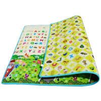 宝宝爬行垫双面婴儿童爬爬垫子户外家用折叠泡沫地垫游戏毯 抖音