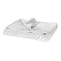 小毛毯夏季薄款空调办公室沙发单人双人纯棉珊瑚绒毛巾被午睡毯子