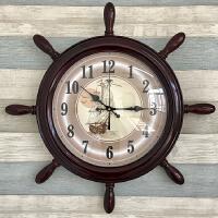 地中海挂钟客厅个性创意时尚挂表现代简约时钟卧室静音儿童房钟表 其他