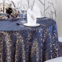 圆桌桌布防水防油欧式家用餐桌布台布防烫免洗塑料180圆形桌垫