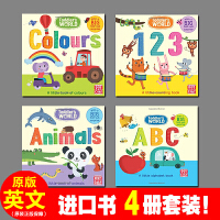 英文原版 A Little Book of Animals / Alphabet Book / Counting Boo