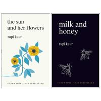 【现货合售】英文原版 Rupi Kaur 诗集2册 Milk and Honey牛奶与蜂蜜+The Sun and H