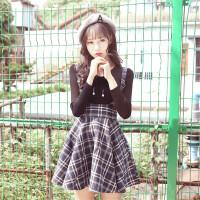 初秋新款毛衣裙子两件套装女装2018新款韩版秋季学生学院风小清新 两件套