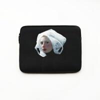 苹果华硕Macbook笔记本电脑内胆包air13.3pro14寸5戴尔12/15.6 塑料头(加绒款)
