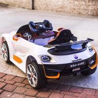 婴儿童电动车四轮小孩汽车遥控宝宝玩具车可坐人1-3-5岁充电瓶车 烤漆酒
