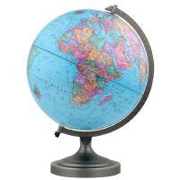 博目地球�x:30cm中英文政�^地球�x(金�僦Ъ�)