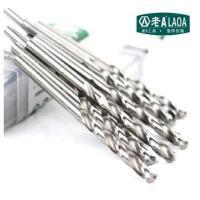 老A(LAOA)不锈钢钻头 M2高速钢全磨制麻花钻头11.4-13mm金属钻 5支装