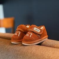 宝宝雪地靴男0一1-3岁女冬季加绒加厚鞋子婴儿6-12个月软底学步鞋