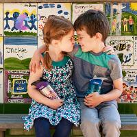 camelbak美国驼峰儿童不锈钢保温水杯防摔幼儿园宝宝学饮杯吸管杯