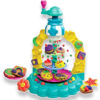 培乐多儿童节礼物 CCTV广告款 多彩曲奇塔套装无毒橡皮泥女孩玩具