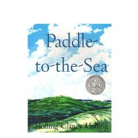 现货 进口英文原版绘本 Paddle-to-the-Sea 划向大海 1942年凯迪克银奖绘本 平装