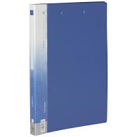 金得利单强力A4文件夹 长强力夹塑料资料管理单夹板夹