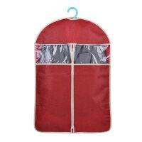 防尘罩主妇时代韩版镂空压花加厚无纺布长款衣服大衣套西装防尘罩挂袋