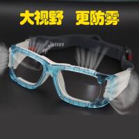 专业篮球眼镜运动近视眼镜框新款防雾透气抗冲击足球防护护目镜男
