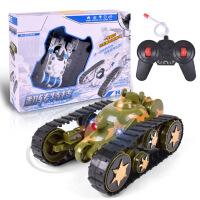 车模型 变形翻转无线遥控坦克车 充电特技翻斗车儿童遥控玩具汽车