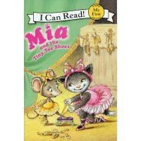 英文绘本 原版进口 Mia and the Tiny Toe Shoes 米娅和小学舞者 [4-8岁]