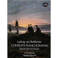 英文原版 贝多芬钢琴奏鸣曲全集 卷一 Ludwig Van Beethoven Complete Piano Sona