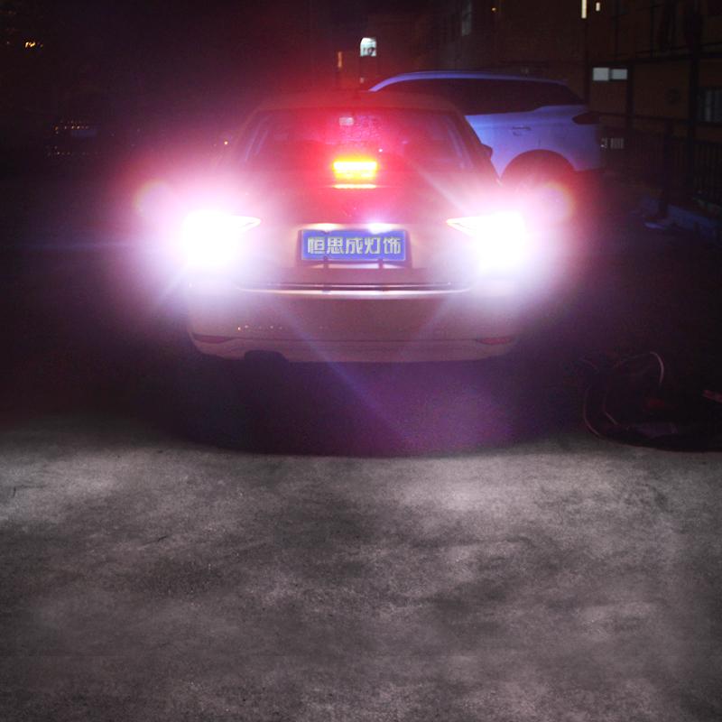 雪铁龙爱丽舍世嘉富康凯旋毕加索改装LED流氓倒车灯C2C4L C5 世嘉两厢 1156-1只