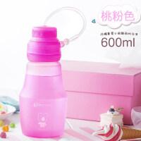 水杯便携硅胶杯子户外运动水壶儿童水瓶登山旅行随手杯