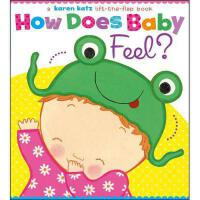 How Does Baby Feel?: A Karen Katz Lift-The-Flap Book
