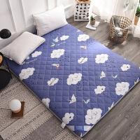 棉套榻榻米折叠海绵软床垫子日式加厚褥子床褥纯棉单双人1.5m1.8