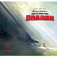 英文原版 驯龙高手1设定集 精装收藏 The Art of How to Train Your Dragon