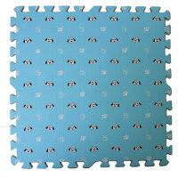 拼图加厚爬爬垫 田园风 婴儿童宝宝爬行垫拼接泡沫地垫送边 长宽厚30*30*1.2cm 32片装送边条