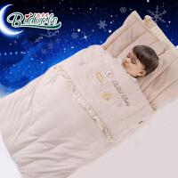 比多乐 婴儿睡袋春秋薄款防踢被纯棉宝宝睡袋儿童用品 薄款 118cm*55cm