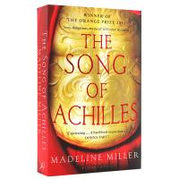 阿基里斯之歌 英文原版小说 The Song of Achilles 阿喀琉斯之歌 英国柑橘文学奖 英文版长篇爱情小说
