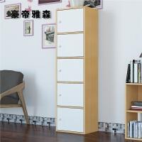 约柜子储物柜带门书柜子自由组合儿童易木书架床头收纳柜