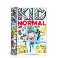 【全店300减100】麻瓜小子4 进口英文原版 Kid Normal and the Final Five麻瓜小孩章节桥