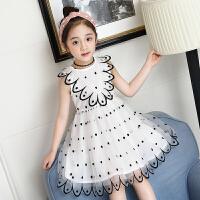 童装女童裙子夏装新款夏季时尚韩版儿童洋气公主裙蓬蓬纱潮衣