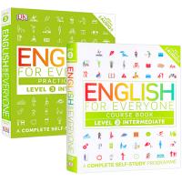 华研原版 人人学英语3 英文原版 English for Everyone Level 3 英语教材练习册自学书籍 D