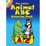 The Little Animal ABC Coloring Book(【按需印刷】)