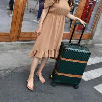 327行李箱铝框拉杆箱旅行箱包万向轮女寸韩版男20密码登机皮箱子 20寸【登机 厂家直销】